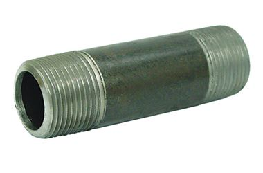 Ace  1/2 in. Dia. x 1/2 in. Dia. x 5 in. L MPT To MPT  Schedule 40  Galvanized  Steel  Pipe Nipple