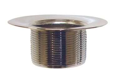 Ace  1-1/2 in. Chrome-Plated Brass  Cast Bottom Strainer