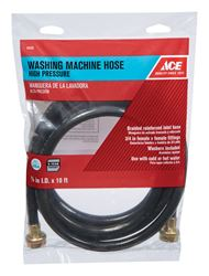 Ace  3/8 in. Dia. x 3/4 in. Dia. x 10 ft. L Washing Machine Hose  Reinforced Coil
