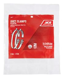 Ace  3 in. to 4 in. Plastic  Duct Clamp
