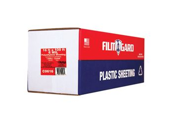 Berry Plastics  Film-Gard  Plastic Sheeting  6 mil  x 16 ft. W x 100 ft. L Polyethylene  Clear