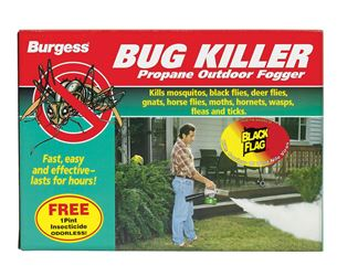 Black Flag  Burgess Propane  Organic Fogger  For Insects 40 oz.