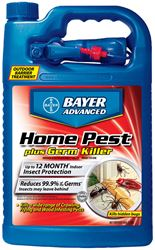 Bayer Advanced  Home Pest Plus Germ  Insect Killer  For Crawling and Flying Insects 1 gal.