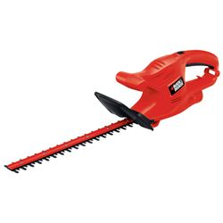 Black+Decker  16 in. L Steel  5/8 in. Corded  Hedge Trimmer  3 amps