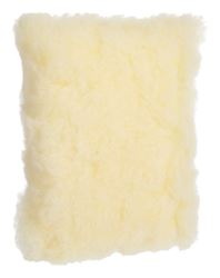 Acme  Synthetic Lambs Wool  Wash Pad Sponge  7 in. L x 4 in. W 1 pk