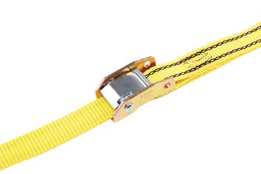 Pro Grip  Polyester  Heavy Duty  Tie Down  12 ft. L 1200  Yellow
