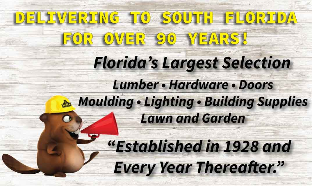 Shell Lumber Delivers To All South Florida