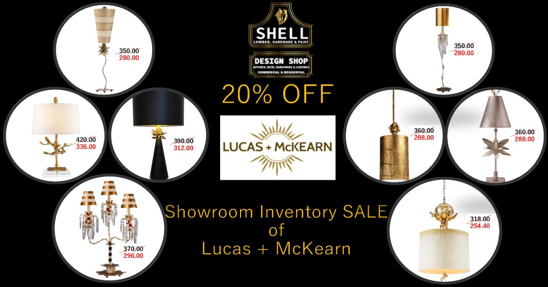 Save 20% On Lucas + McKearn For October
