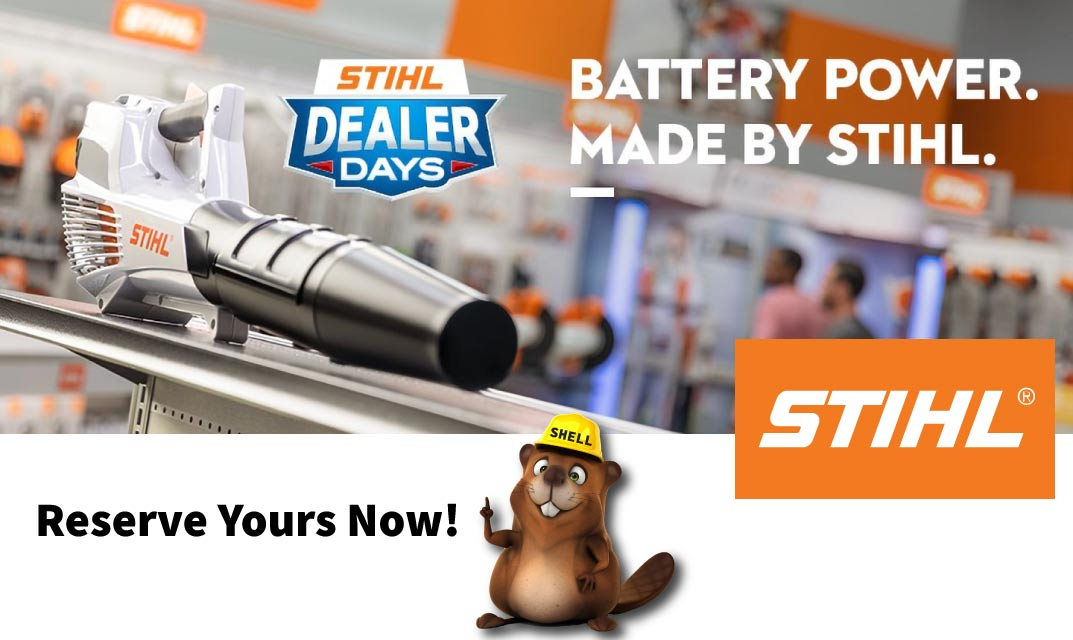 The Latest Stihl Products and Offers Available at Shell