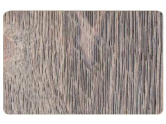 1 In. x 4 In. Ghost Wood- Silver City - Circle Sawn Weathered Texture - Square Edge