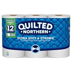 Quilted Northern Toilet Paper 6 roll 164 sheet 109.33 SQFT