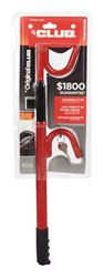 The Club Red Steering Wheel Lock 1 pk Fit Most Vehicles
