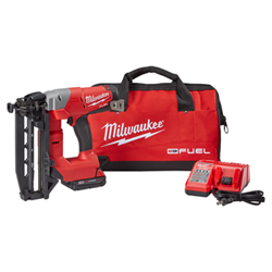 Milwaukee 2742-21ct M18 Fuel 16 Gauge Angled Finish Nailer Kit