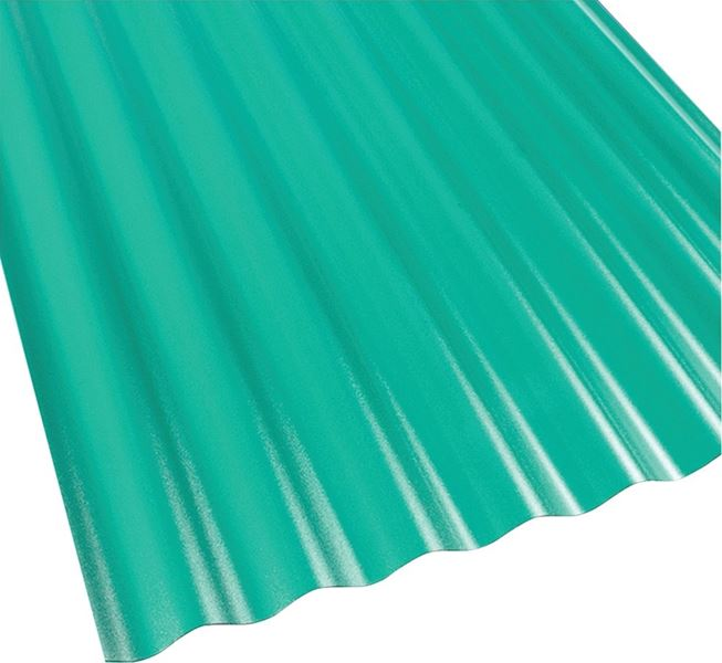Suntop 108976 Corrugated Roofing Panel, 26 in W x 8 ft L