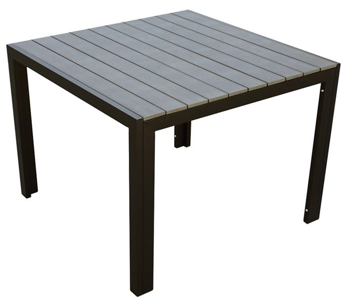 Seasonal Trends T3s40qsbkpw002 Patio Dining Table 40 In Aluminum