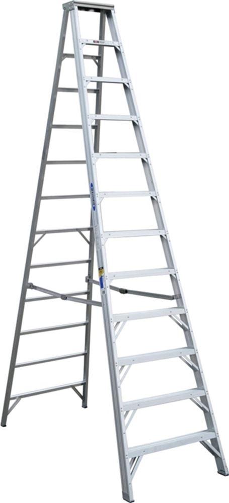 Werner Ladder 412 Alum Stepladdr Type1aa 12' #VORG6346522, 412