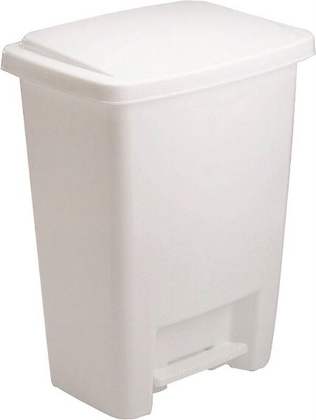 20f30abd31463 Rubbermaid FG284187WHT Waste Basket