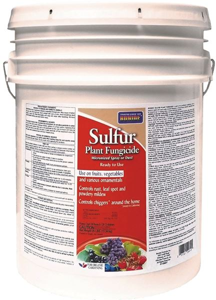 Bonide Products 20610 Dust Sulfur Bucket 25lb #VORG7217920