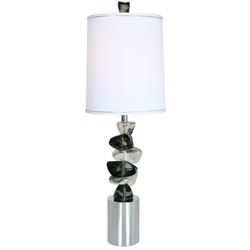 "Van Teal 481672 Rolling Rock 36.5"" Table Lamp"