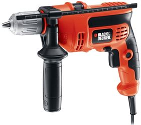Black & Decker DR670 Corded Hammer Drill, 6 A, 1/2 in Keyless Chuck, 0 - 2800 rpm