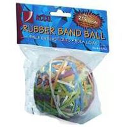 Acco A7072153 Rubber Ball Band, 3-1/4 In L X 1/8 In W Band Size, Rubber, Assorted