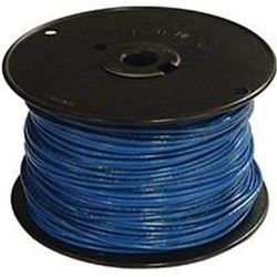 Southwire 10Blu-Solx500 Solid Single Building Wire, 10 Awg, 500 Ft, 20 Mil Thhn