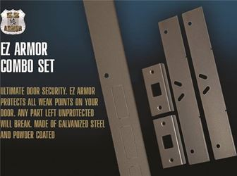 Armor SET-EZA-23000 Door Jamb Kit, 1-3/4 in Door Thickness, 48-1/2 in L