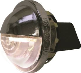 Peterson 298 Low-Draw License Plate Light, LED, Chrome