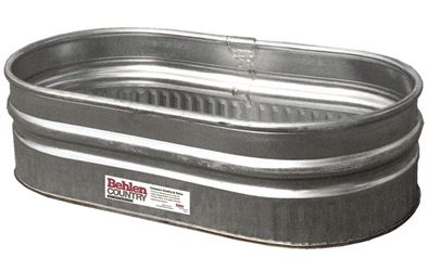 Behlen Country 50130198 Farm Stock Tank, 44 gal Capacity, Round, Steel