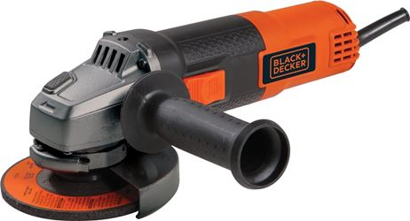 Black & Decker 7750 Corded Angle Grinder, 5.5 A, 10000 rpm, 4-1/2 in Wheel, 5/8-11 Shank