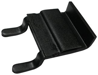 1158021 Adapter Clip, For Use With Faucets Display Pod, Metal, Black