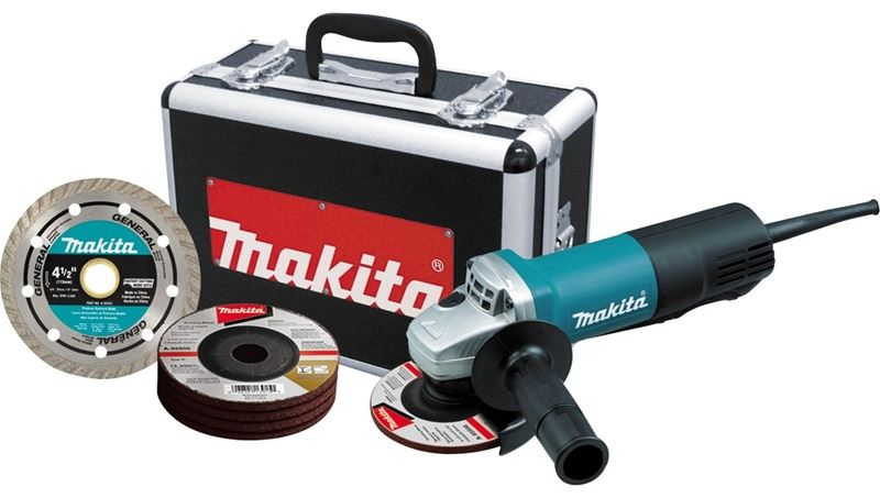 Makita 9557pbx1 Grinder Angle 4-1/2in