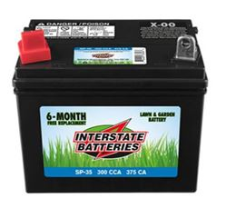 Interstate Batteries Sp 30 Battery Tractor 250cca