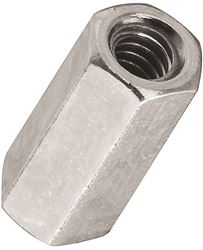 Stanley 182659 Coupling Nut, NO 10-24, Steel, Zinc Plated