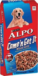 Alpo Come & Get It 5000058091 Dry Dog Food, 37 - 40 lb, Pork, Chicken, Veggie, Steak