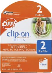 OFF! 70319 Mosquito Repellent Refill Kit, 2 Pieces
