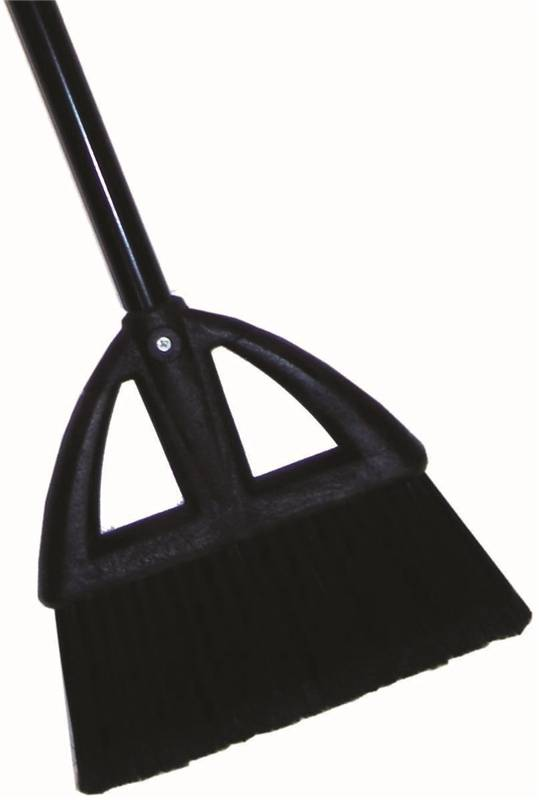 Quickie 734ZQK Lobby Broom, Powder-Coated Steel