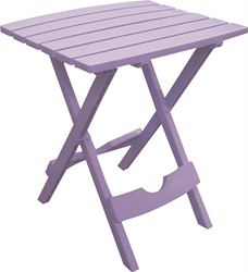 Adams Mfg 8500-12-3731 Side Table Violet 4 Pack