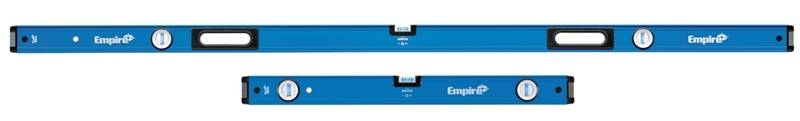 True Blue E75JAMB Heavy Duty Beam Level Set, 2-Piece, 78in & 32 in Length
