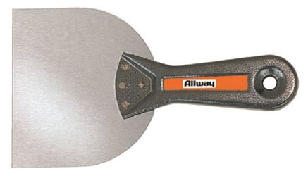 Allway T45 Taping Knife, 4-1/2 In W, Spring Steel Plastic
