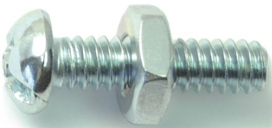Midwest Fastener 23984 10-24X3/4 Cmb Rd Mach Zn - 5 Pack
