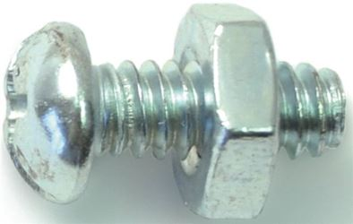 Midwest Fastener 23983 10-24X1/2 Cmb Rd Mach Zn - 5 Pack
