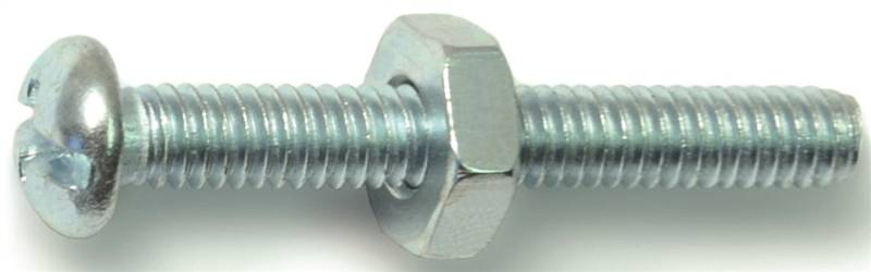 Midwest Fastener 23980 8-32X1-1/4Cmb Rd Mach Zn - 5 Pack