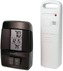 AcuRite 00606CASB Wireless Digital Thermometer, 32 - 122 deg F Indoor, -40 TO 158 deg F Outdoor
