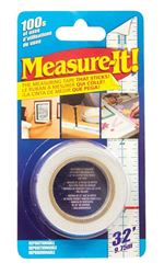 Intertape MIT32 Adhesive Measuring Tape, 1 in W x 32 ft L Blade