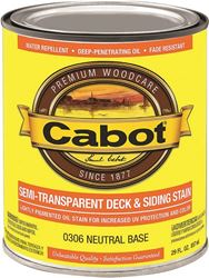 Cabot 0306 Cabot Oil S/t Neutral Qt