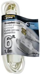 Powerzone OR660606 SPT-2 Extension Cord, 16/2, 6 ft