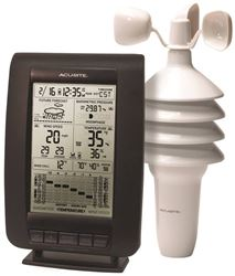 AcuRite 00634CA 2-In-1 Center Wireless Weather Station With Forecast, +/-4 deg F