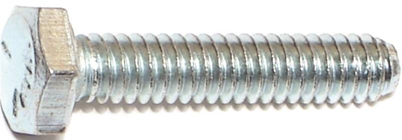 Midwest Fastener 1/4X1-1/4In Zinc Hex Screw Gr5