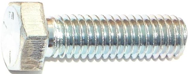 Midwest Fastener 3/8X1-1/4In Zinc Hex Screw Gr5